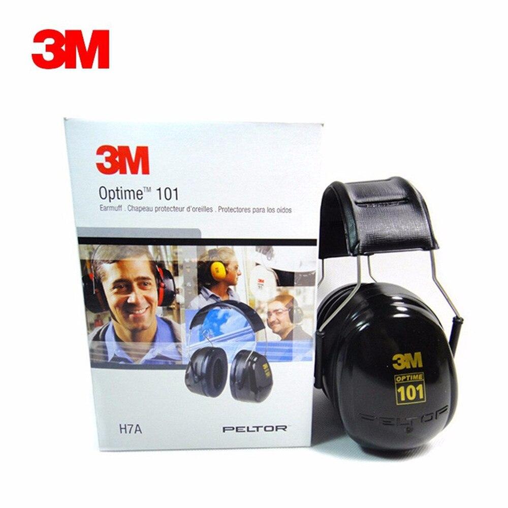 Véritable 3 M H7A cache-oreilles Protection anti-bruit cache-oreilles apprentissage sommeil industrie tir cache-oreilles