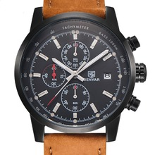 BENYAR Mens Watches Top Brand Luxury Military Sport Wristwatch Chronograph