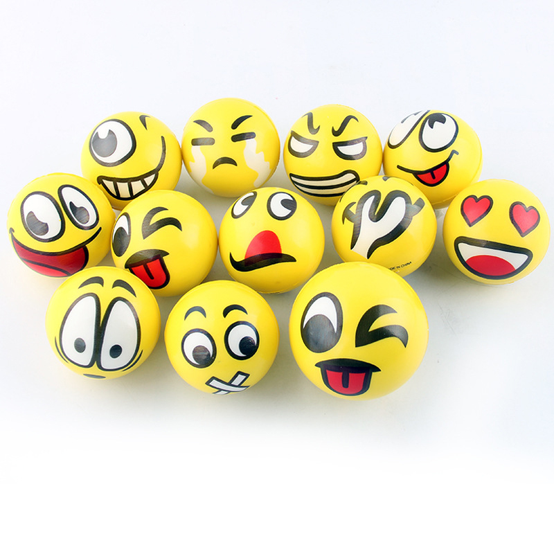 Gags & Practical Jokes Back To Search Resultstoys & Hobbies Dedicated 12pcs/set Smile Emoji Anti Stress Balls Toys Slow Elastic Ball Anti-stress Toy Balls For Stress Relief Toy For Children