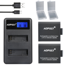 Hot 2x PG1050 Rechargable Li ion Camera Battery LCD Dual Charger For EKEN H9 H9R H3