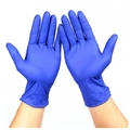 Класс синий одноразовые нитриловые резиновые перчатки, нитриловые перчатки труда защитные оборудования латекс бесплатная доставка