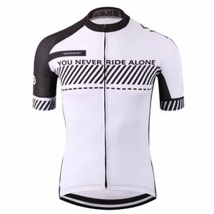 Image 3 - Wholesale 2019 3xl Road Uv Cycling Jersey Men Quick Dry Bicycle China Cycles Top MTB Dry Racing White Fit Blank Bike Shirts