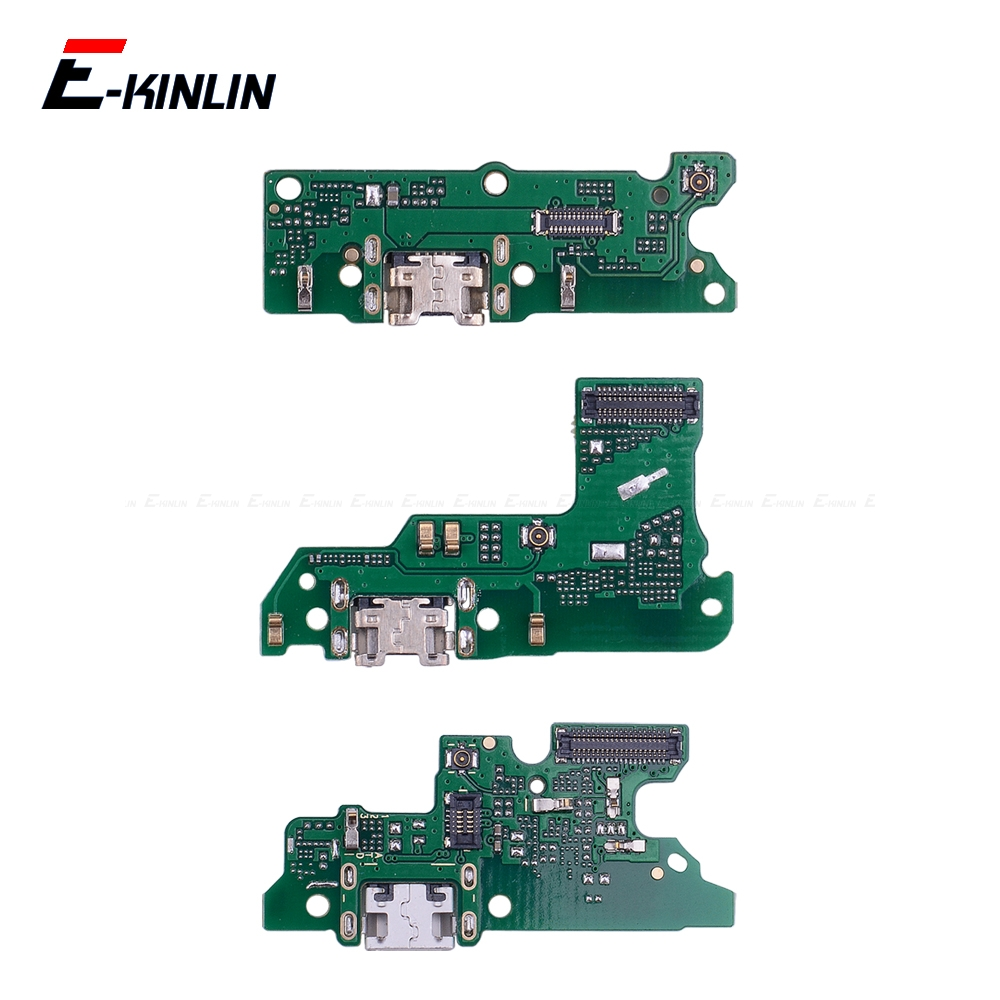 Power Charging Connector Plug Port Dock Board Mic Microphone Flex Cable For HuaWei Honor Play 8A 7A 7C 7X 7S 6A 6C 6X 5C Pro