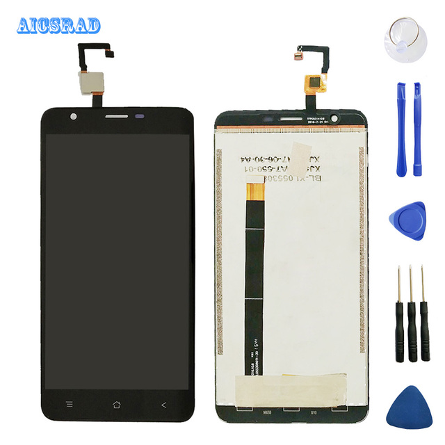 AICSRAD original tested LCD Display For Blackview E7 LCD Display Screen With Touch Screen Assembly+Tools e 7s
