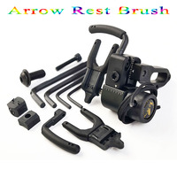1pc Bow Drop Away Fall Away Arrow Rest for Archery Hunting Shooting Training Compound Bow Accessories with CNC Aluminum Alloy