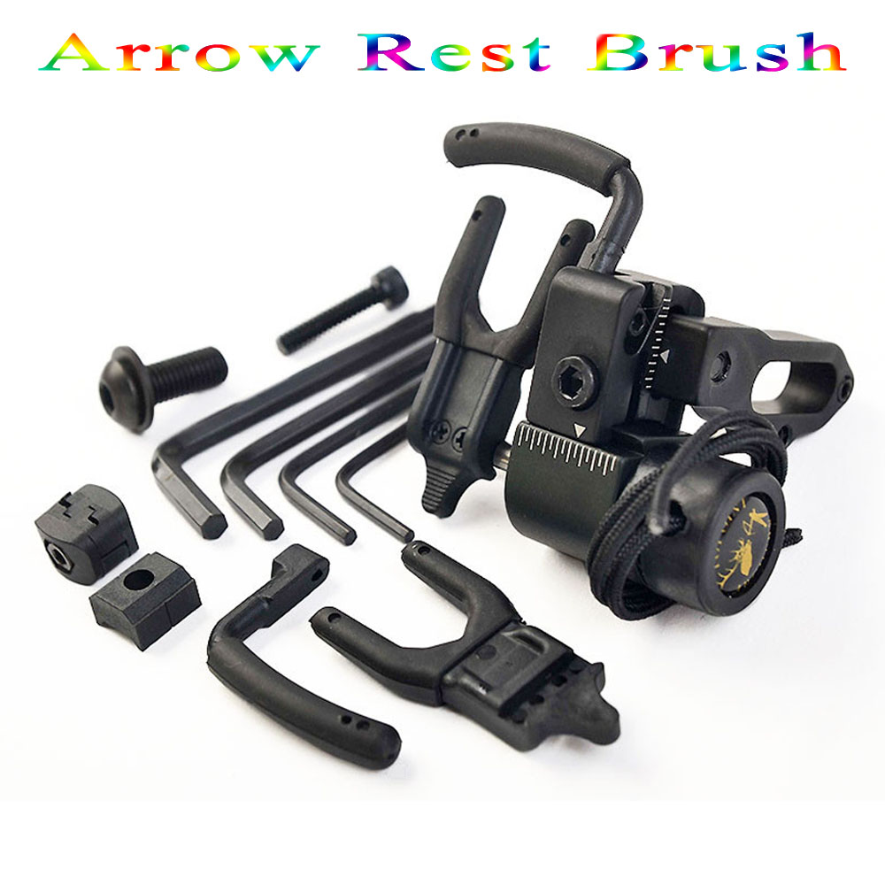 Bow Drop Away Fall Away Arrow Rest for Archery Hunting Shooting Training Compound Bow Accessories with CNC Aluminum Alloy