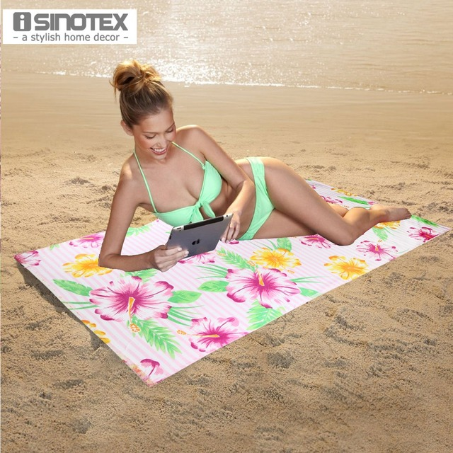 pool towel aliexpresscom buy 100 cotton beach towel 75cm x 150cm printed