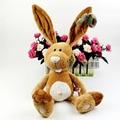 1 unids 35 cm regalo de cumpleaños NICI contadores genuinos conejito pascua grandes orejas largas de conejo niños juguete de peluche favorito