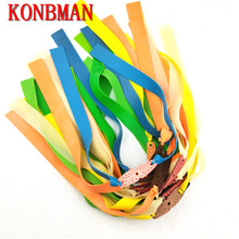 New Arrival 6Pcs Outdoor Slingshot Powerful Elastic Flat Rubber Band Hunting Sports Catapult Kit Set Practical