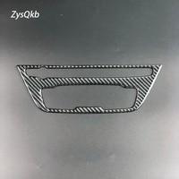 Carbon Fiber Car Interior Air Conditioning CD Panel Cover Trim For BMW F20 1 Series 118i 120i 135i 2012 2015 Auto Accessories
