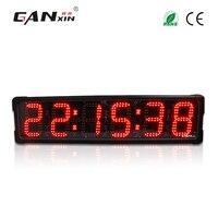[Ganxin]6'' 6 Digits countdown Outdoor LED clock large decorative wall clocks