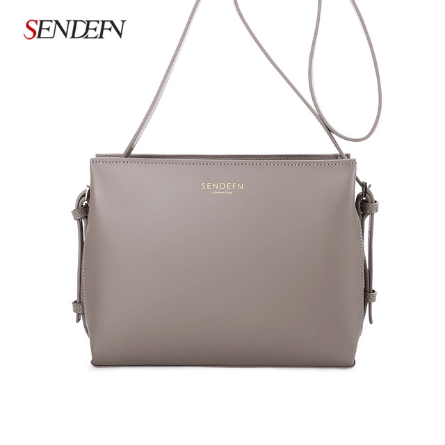Sendefn New Arrive Women Shoulder Bag Split Leather Women Handbag Fashion Messenger Bag Brand Crossbody Bags Women Bag new fashion women girl student fresh patent leather messenger satchel crossbody shoulder bag handbag floral cover soft specail