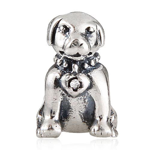 Fashion Dog DIY beads 925 sterling silver charms Fit for pandora charm bracelet SR2920 Free shipping