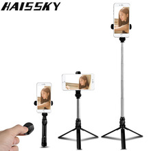3 in 1 Selfie Stick Phone Tripod Extendable Monopod Bluetooth Remote Shutter for iPhone X 8 Samsung S9 Xiaomi Huawei Smartphone