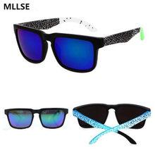 8598f6e74 New KEN BLOCK Sunglasses Men Brand Designer Sun glasses Reflective Coating  Square Spied For Women Rectangle Eyewear gafas de sol