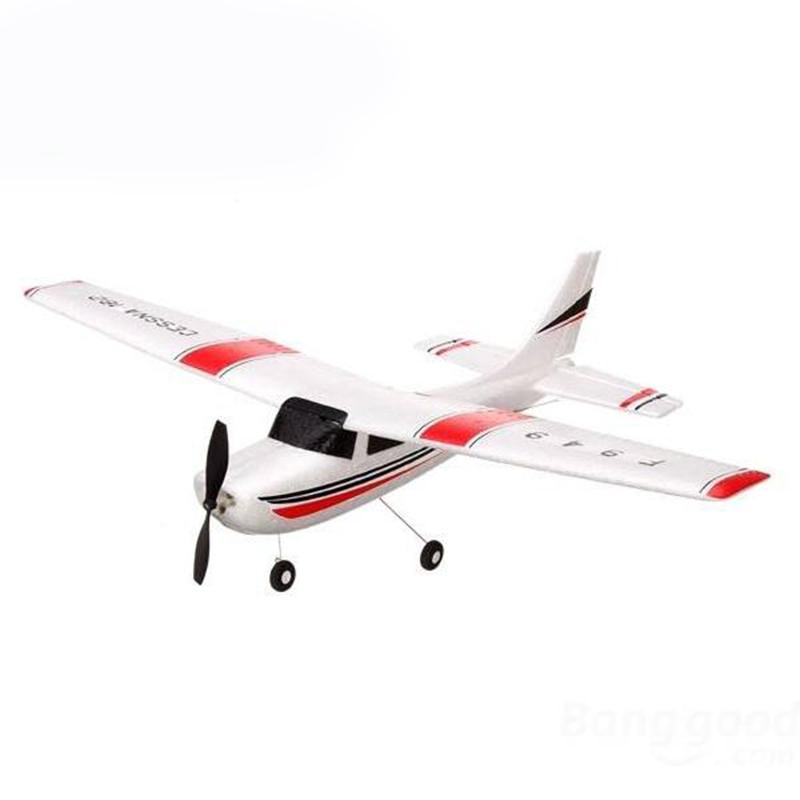 LeadingStar WLtoys F949 2.4G 3CH Cessna 182 Micro RC Airplane BNF Without Transmitter радиоуправляемый гидроплан art tech cessna 182 2 4g 2101t