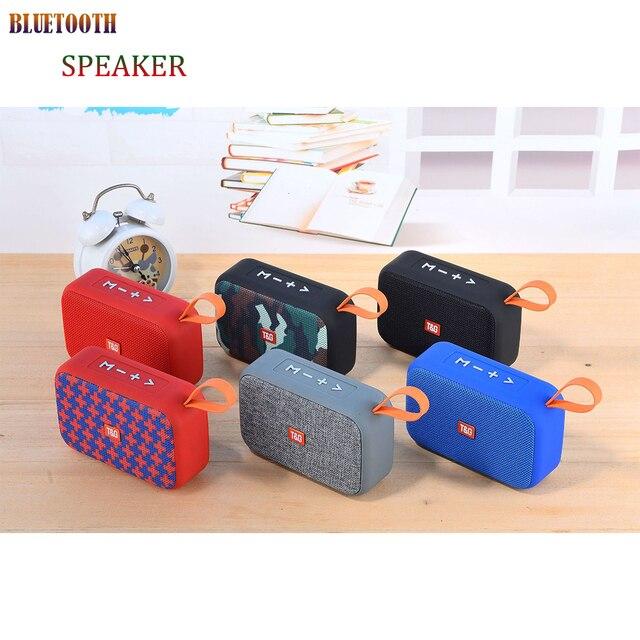 New Mini Portable Speaker Bluetooth Speaker Outdoor Bicycle  Wireless Speaker Mini Column Box Loudspeaker FM TF  Gift