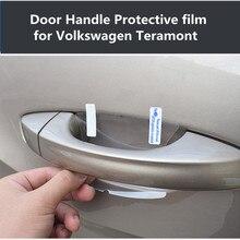 Car door bowl protective film scratch-resistant anti-scratch rhinoceros car handle wrist for Volkswagen Teramont