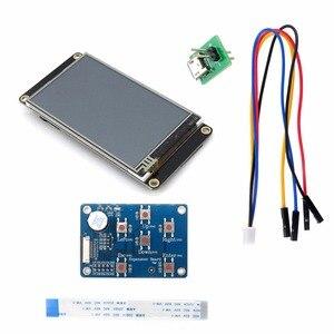 Image 1 - Nextion المحسن 3.2 HMI شاشة تعمل باللمس 400*240 بكسل لوحة الشاشة NX4024K032 مع I/O تمديد لوح تمديد FZ1718E + FZ2280