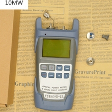 All IN ONE Fiber optical power meter  70 to +10dBm And 10mw 10km Fiber Optic Cable Tester  Visual Fault Locator Laser Pen Tester