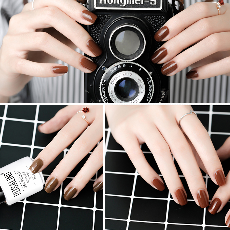 Aliexpress Rosalind Gel Varnish 7ml Coffee Color Series 2651 2662 Uv Nail Polish Soak Off Prime White For Extension Art Design From