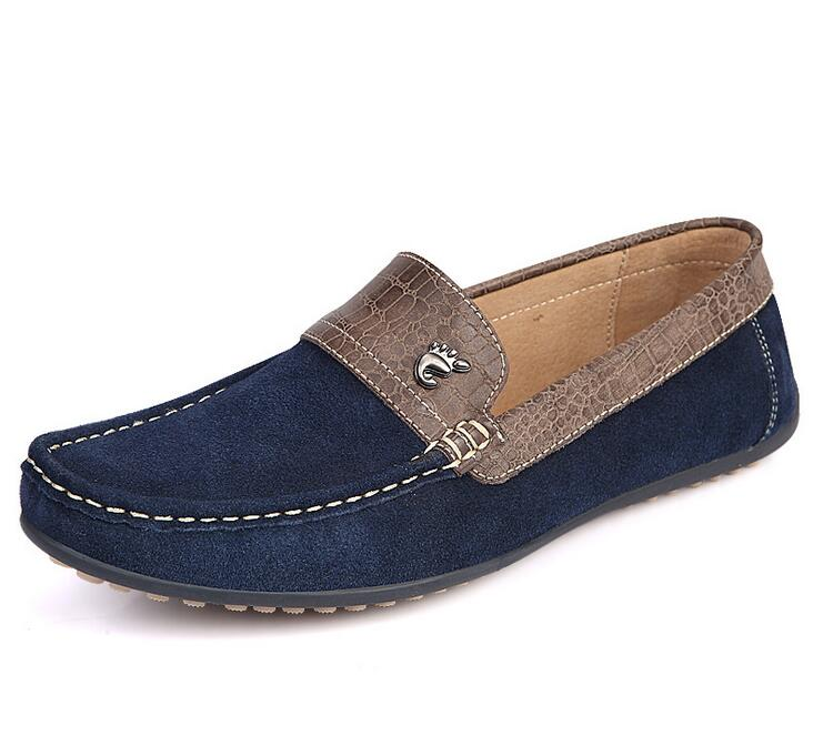 SunNY Everest2018 new Fashion Genuine Leather cow suede Soft Moccasins Men Loafers Shoes Men Flats Gommino Driving 38-44 D003SunNY Everest2018 new Fashion Genuine Leather cow suede Soft Moccasins Men Loafers Shoes Men Flats Gommino Driving 38-44 D003