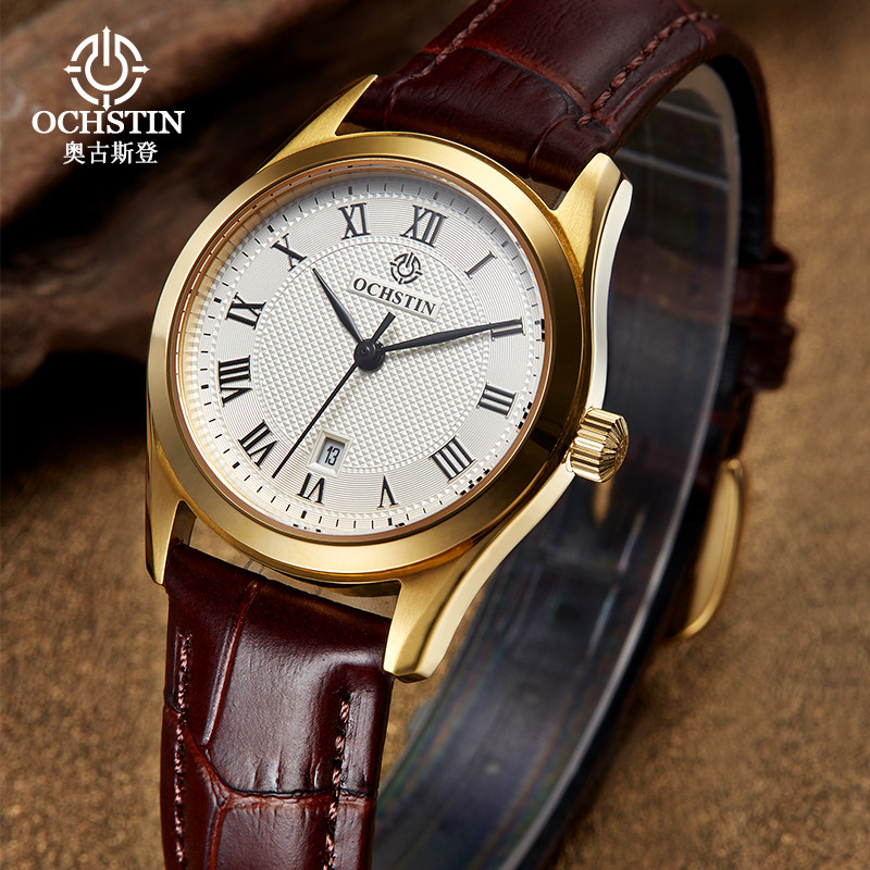 Top Ochstin Brand Luxury Watches Women 2017 New Fashion Quartz Watch Relogio Feminino Clock Ladies Dress Reloj Mujer misscycy lz the 2016 new fashion brand top quality rhinestone men s steel band watch quartz women dress watch relogio feminino