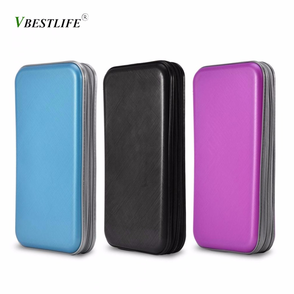 80 Disc Portable Car CD DVD VCD Storage Case Bag Large Capacity Waterproof for Car Media Storage CD Bag Boxes 3 Colors Optional