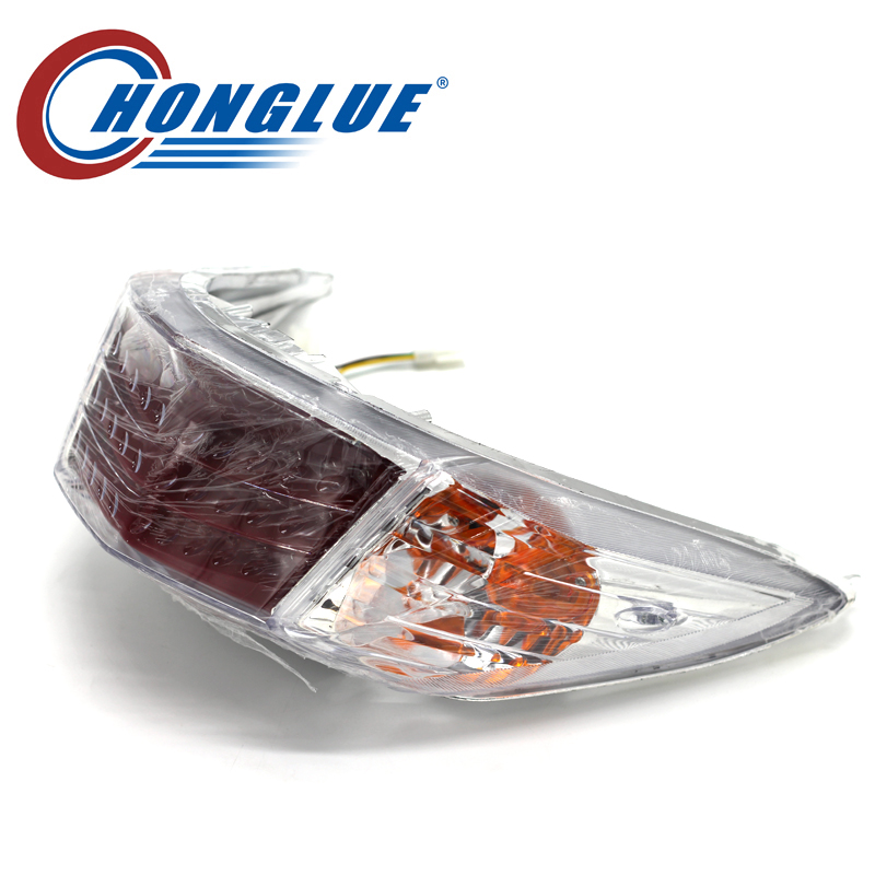 Motorcycle Accessories For YAMAHA CYGNUS second generation Motorcycle scooter rear taillight assembly Brake light assembly