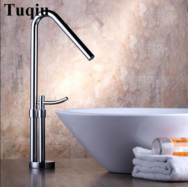 new arrival high quality brass material chrome plating single lever hot and cold bathroom basin faucet