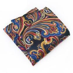 Paisely Платки для Для мужчин бренд маленький карман ТАУ с цветочным принтом платок карман квадратных для Для мужчин s костюм свадебный