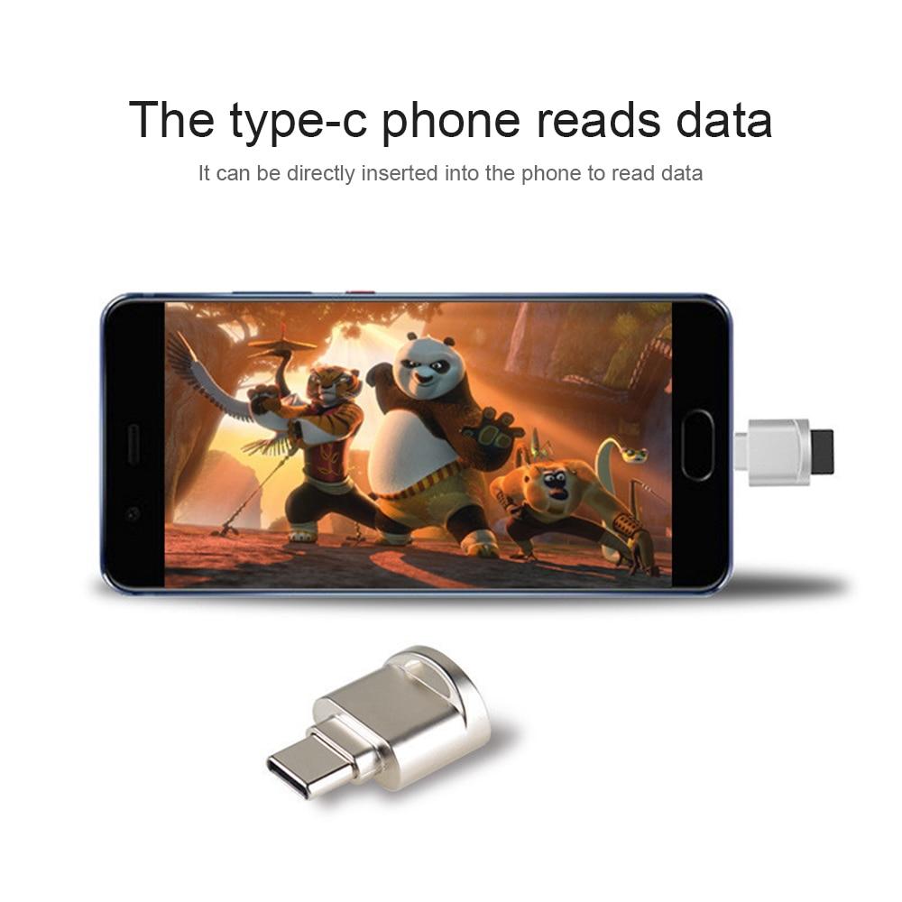 Mini Type-C Micro SD TF Memory Card Reader OTG Adapter USB 3.1 Portable USA