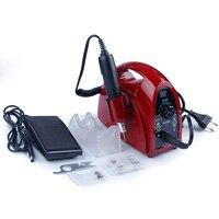 35000 об./мин../электрическая маникюрная машина сверла для ногтей фрезерные резаки 65 Вт гель для снятия ногтей Файлы Инструменты аппарат для ма