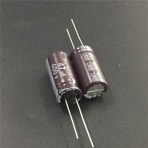Image 1 - 5pcs 47 미크로포맷 400V Suscon SD 시리즈 12.5x26mm 고주파 저 임피던스 400V47uF 알루미늄 전해 콘덴서