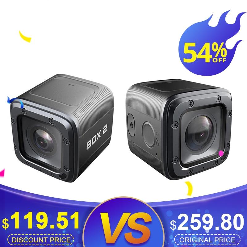 Foxeer Box 2 4 K 30Fps HD Cam 155 degrés et filtre FOVD SuperVison FPV caméra d'action pour téléphone APP Micro HDMI Port Drone RC