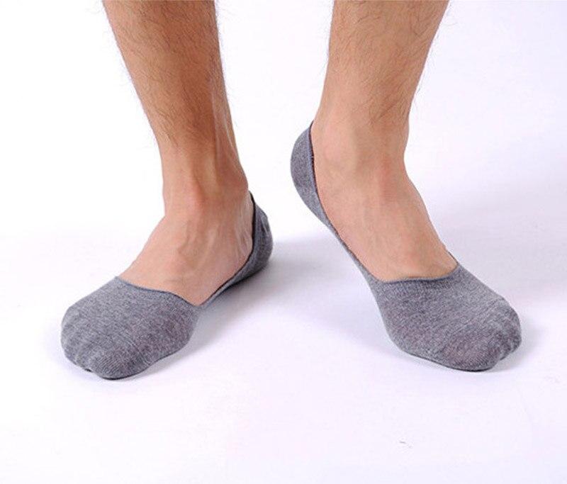 1 pairs man Thin Shallow mouth invisible boat sports cotton Slip socks PH15 Dropshipping
