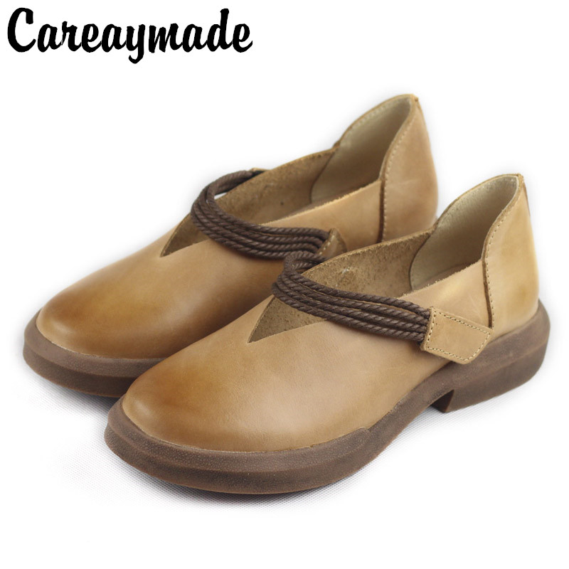 Careaymade In the spring and Autumn period the new type of leather is painted by hand