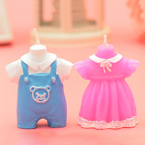 Baby Shower Baby Carriage Baby Boy Romper Girl Dress Votive Candles Favors  Store 48