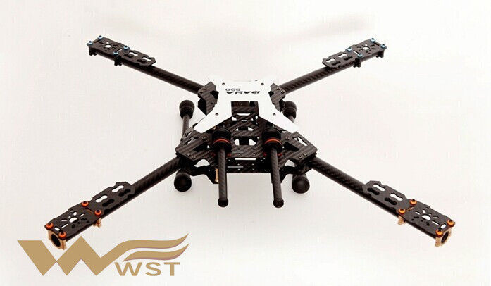 aliexpresscom buy the new 550 alien wheelbase carbon fiber folding quadcopter frame with landing gear kit for diy drones quadcoptermultirotor from