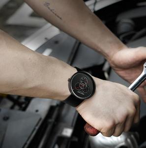 Image 4 - מקורי Youpin CIGA שעון זמן מכונה שלושה הילוך עיצוב פשוט קוורץ שעון אחד מצביע עיצוב מתכוונן תאריך שעונים H24