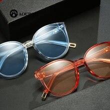 d08f6fd311ef5 Rosto redondo Retro Homens e mulheres óculos de sol Da Literatura e da arte  Transparente rave lunette de soleil luneta femme hom.