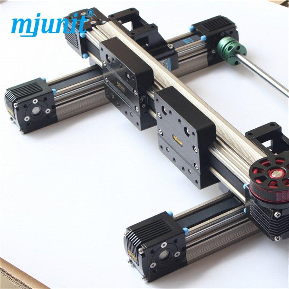 MJ45 CNC partie précise Rail de guidage linéaire à billes
