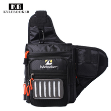 Fly Fishing Waist Bag Multi-Purpose Reel Lure Bait  Multi-purpose Tackles Haversack Shoulder