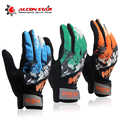 Fashion KTM Motocross Gloves Motorcycle Racing Gloves Bicycle Luva Motoqueiro Cycling Gloves Bike Polyester Off Road Moto Gloves