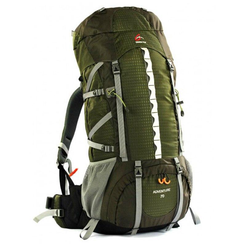 Prix pour Crosstop ADVENTURE 60 / 70L sac d'alpinisme extérieure randonnée double - épaule sac à dos avec Raincover sac de Sport