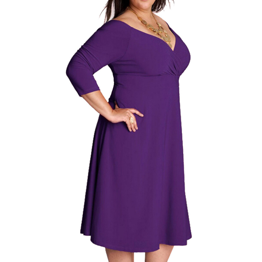 Plus Size Women\'s Dress vestidos de fiesta 6XL Big Large Sexy Lady ...