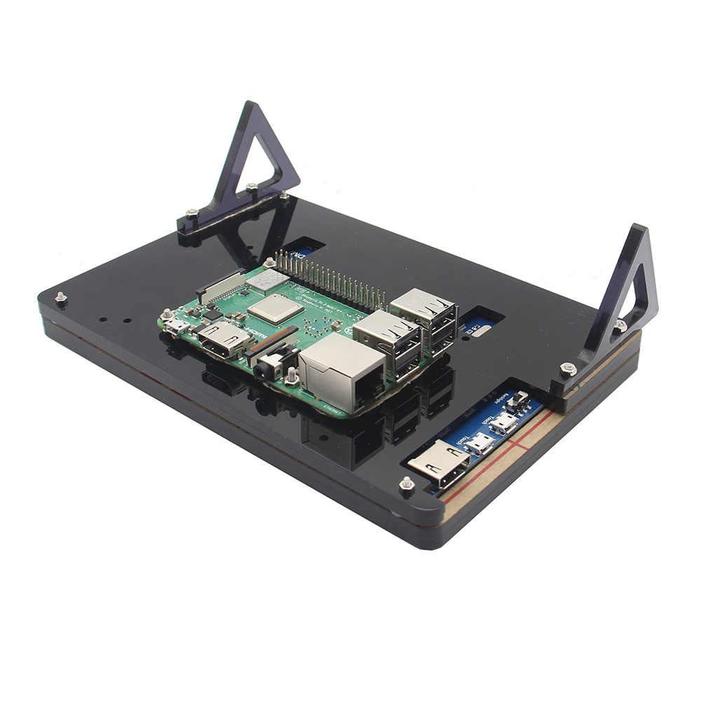 7 дюймов Raspberry Pi 3 ЖК-дисплей акриловый Кронштейн 7 дюймов ЖК-дисплей Экран дисплея Корпус подставка для Raspberry Pi ЖК-дисплей 1024*600