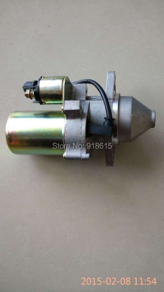 Starter Motor ,fit  EF6600E EF5500TE petrol generator, replacement 12v 4kw new starter motor for ford f e series tg228000 8420