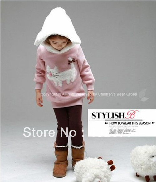 clearance-Autumn-and-winter-children-fashion-cute-rabbit-pattern-sweater-kids-outerwear-coats-girls-clothing-2