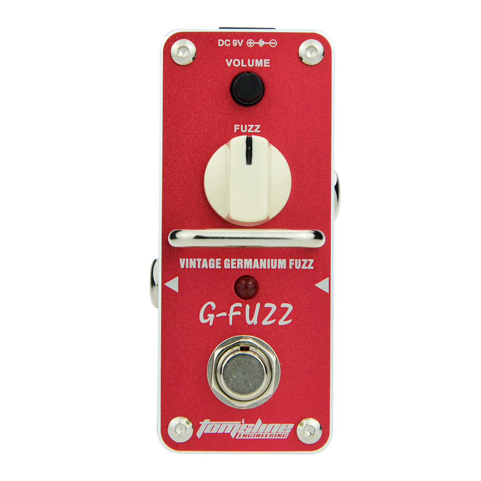 AROMA Tom'sline AGF-3 G-FUZZ Vintage Germanium Fuzz Guitarra Effect Pedal Mini Analogue Guitar Effect Pedal with True Bypass how hockey explains canada the sport that defines a country